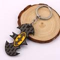 Black Batman keychain superheroes car key chain ring holder best friends pendant Souvenir batman action figure 5632