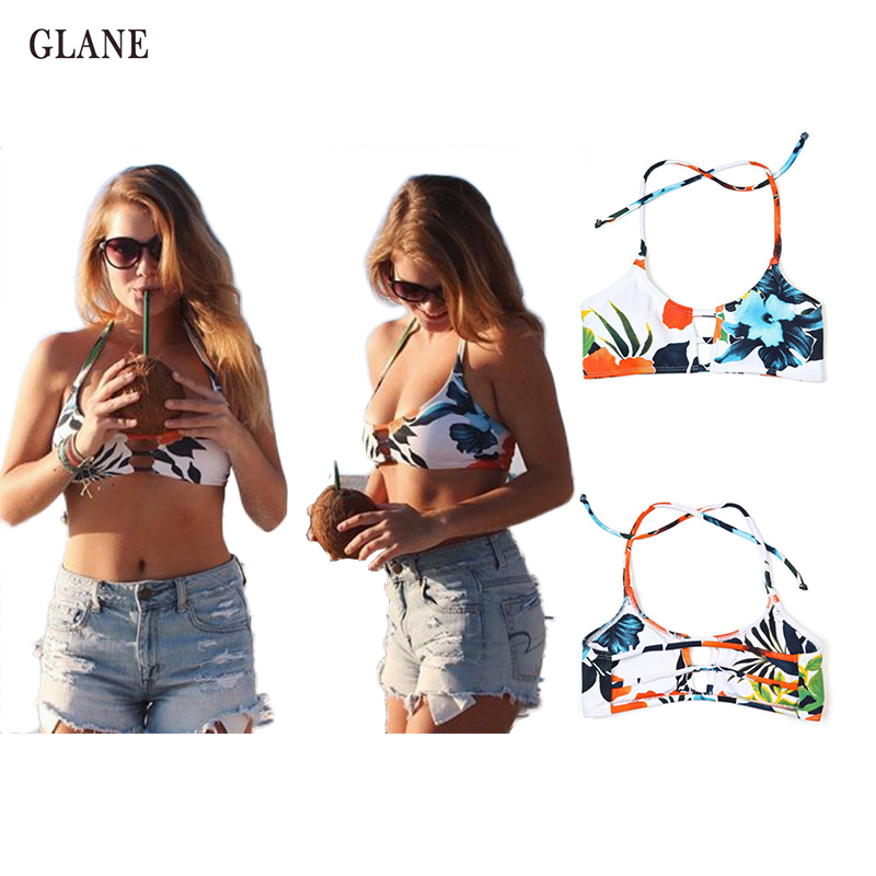 Womens Bandage Bikini Set Sexy print bra biknis Push-up Padded Bra Swimsuit Bathing Suit Swimwear Pluz Size