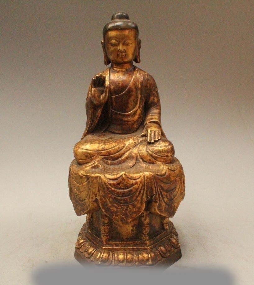 14 Tibet Temple Buddhism Bronze Sakyamuni Shakyamuni Amitabha Buddha Statue14 Tibet Temple Buddhism Bronze Sakyamuni Shakyamuni Amitabha Buddha Statue