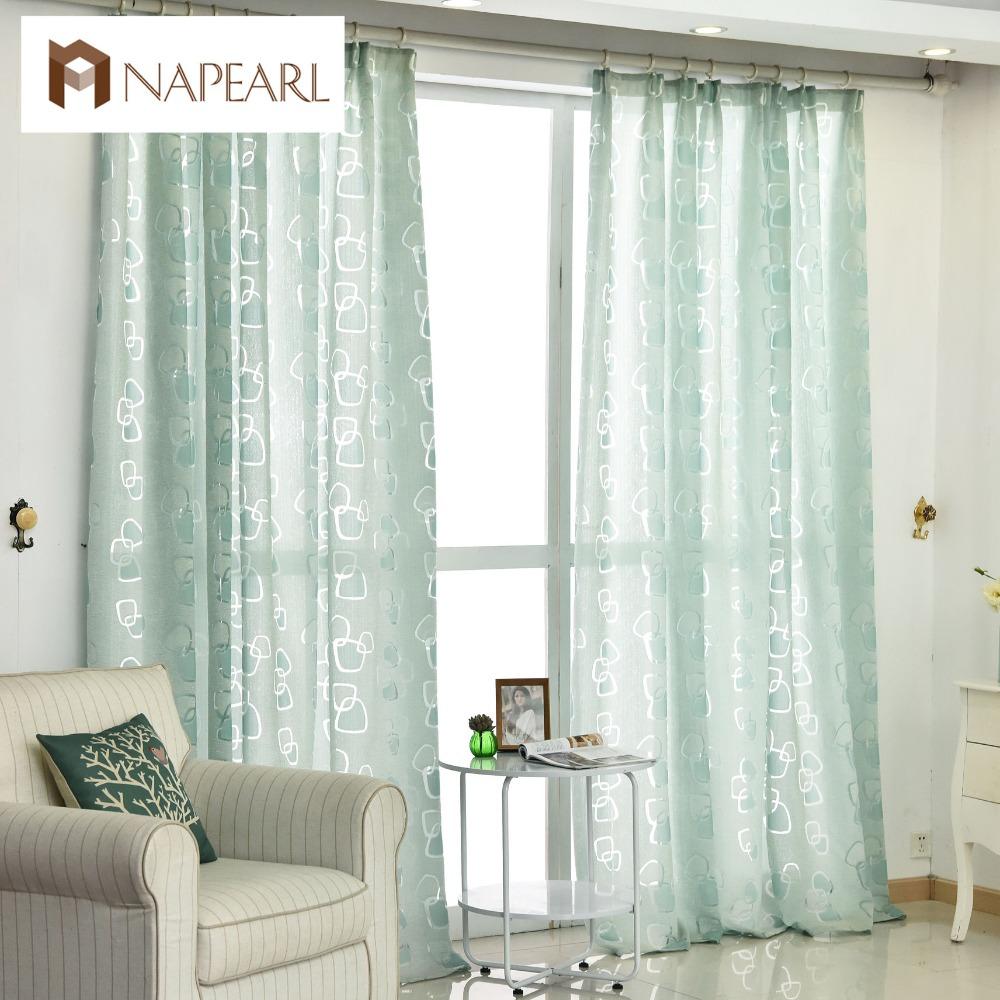 cortinas de tela de cortina moderna sala de estar del diseo geomtrico negro verde cortina