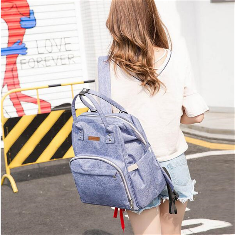 HTB1kNudbffsK1RjSszbq6AqBXXaH 23 Colors Fashion Mummy Maternity Nappy Bag Large Capacity Baby Diaper Bag Travel Backpack Designer Nursing Bag for Baby Care