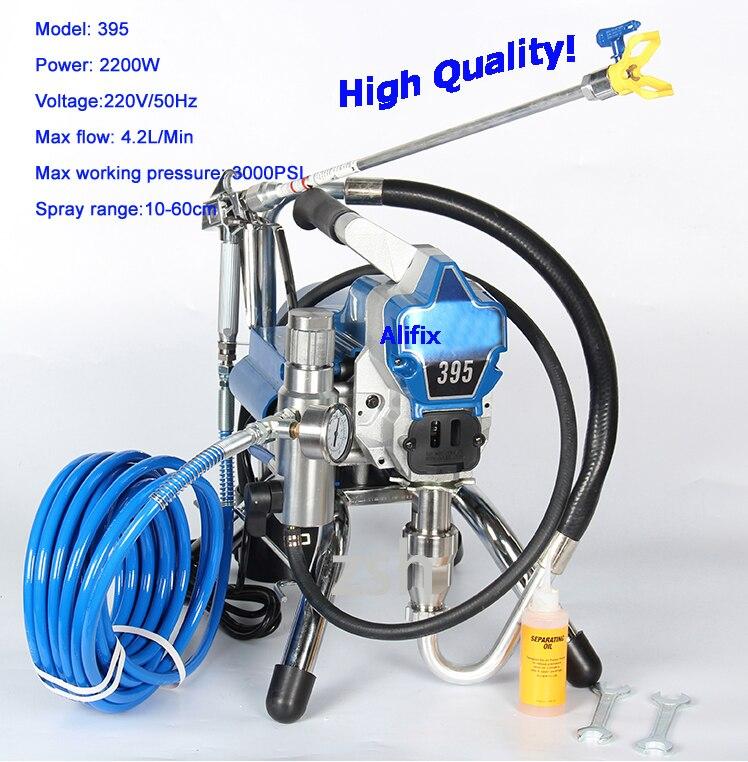 2019 High pressure New airless spraying machine Airless Spray Gun electric Airless Paint Sprayer 390 395