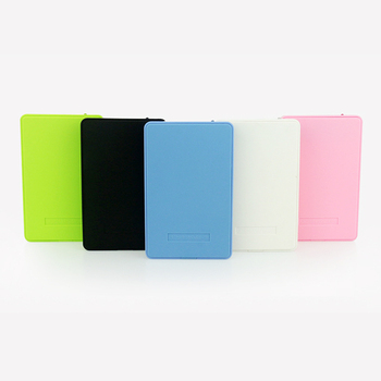 "New Style 2.5"" PIRISI HDD Slim Colorful External hard drive 80GB USB2.0 Portable Storage Disk wholesale and retail On Sale"