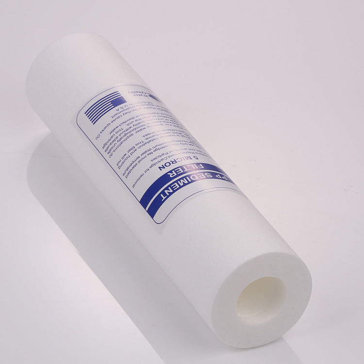 Water Purifier 10 Inch 4pcs 5 Micron Sediment Water Filter Cartridge PP Cotton Filter Water Filter System