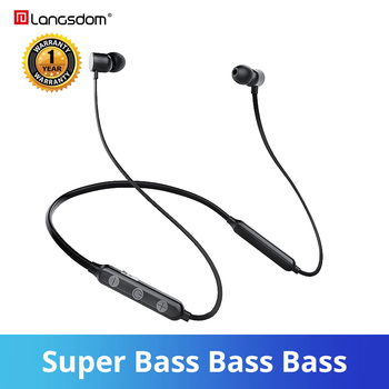 plufy bluetooth headphones sports wireless earphones music earbuds auriculares inalambrico csr4 1 touch audifonos ecouteur Langsdom BX9 Wireless Earphone Neckband Sports audifonos Bluetooth Earphones auriculares 12h Music Bluetooth Headsets for phone