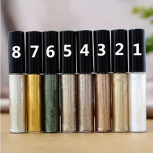 Liquid Glitter Eyeliner waterproof Cosmetics for Women Silver Gold Color Shiny Eye Liners Gel Profissional Makeup