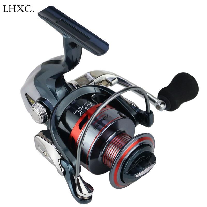 13 1BB 5 5 1 Spinning Fishing Reel Metal XS1000 7000 Series Spinning Reel Fishing Tackle Max Drag Power Fishing in Fishing Reels from Sports Entertainment