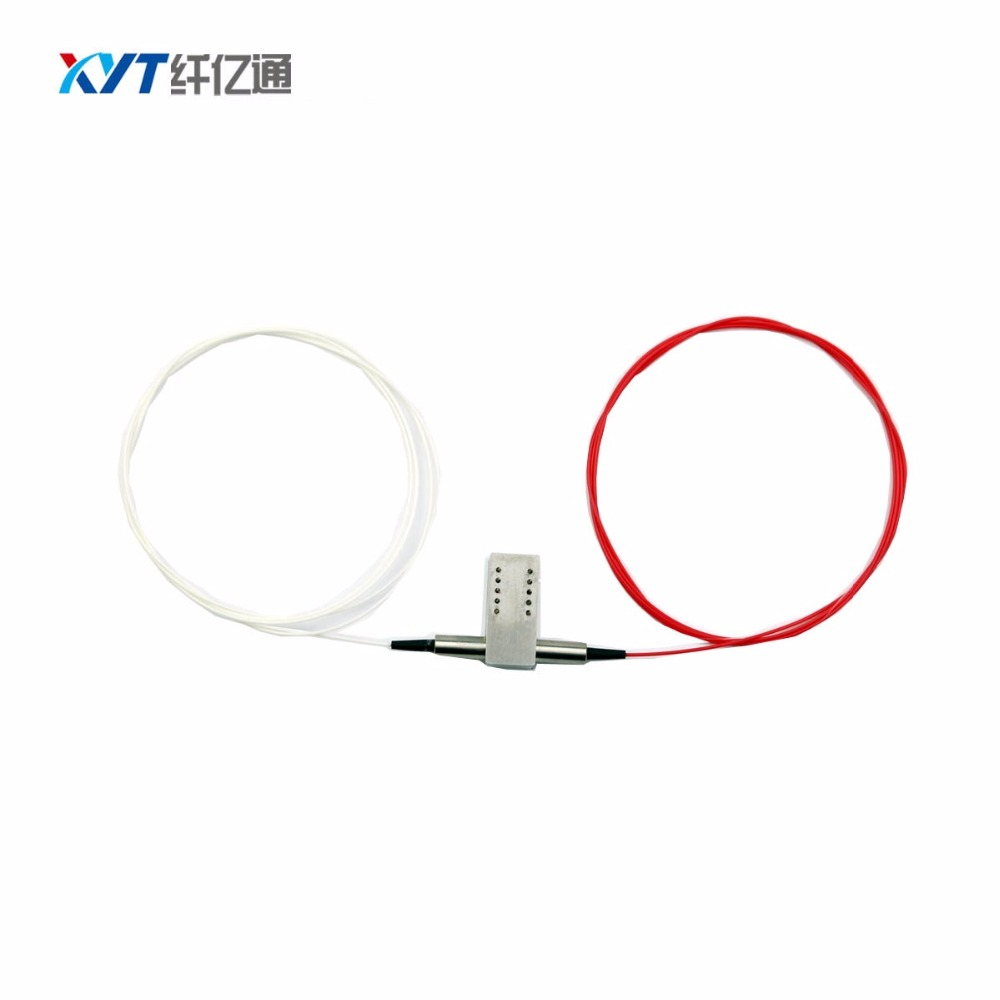 High quality free shipping 1260~1650nm 1x1 Mechanical Optical Switch 5V Latching 0.9mm 1m with FC/PC fiber optic switchHigh quality free shipping 1260~1650nm 1x1 Mechanical Optical Switch 5V Latching 0.9mm 1m with FC/PC fiber optic switch