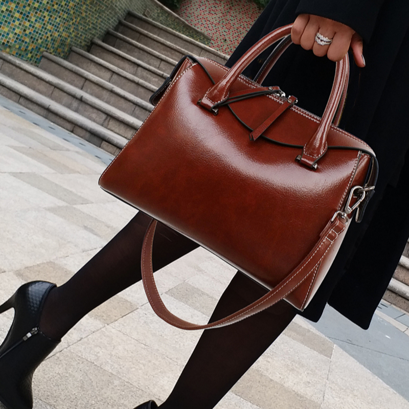 IMIDO office lady high quality women handbag fashion shoulder bag vintage women's messenger bag ladies PU leather crossbody bags new fashion women pu leather vintage messenger bag ladies mini lock flip shoulder bag high quality girls casual crossbody bags