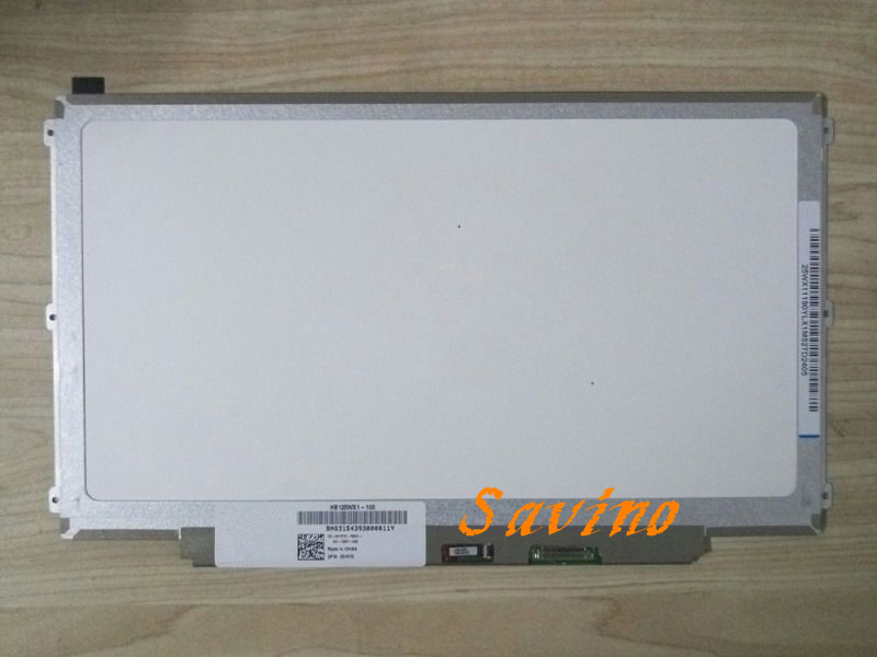 12.5inch HB125WX1-100 B125XTN03 for DELL E7240 laptop screen edp 30pins nt125whm n42 fit b125xtn01 0 12 5led lcd screen edp 30pins 2 special screw hole