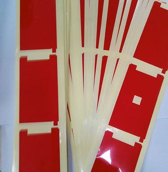 200pcs Backlight Red Film Sticker For iphone 6 4.7'' 6G 5S 5 5C 4S 4 LCD Sreen Display Digitizer back light Sticker image
