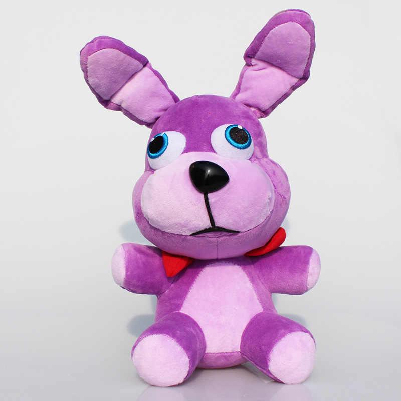 25 เซนติเมตร 10 นิ้วห้า Nights ที่เฟร็ดดี้'s ของเล่น 4 FNAF เฟร็ดดี้ Fazbear หมี bonnie foxy ตุ๊กตาสัตว์ตุ๊กตาของเล่นตุ๊กตา