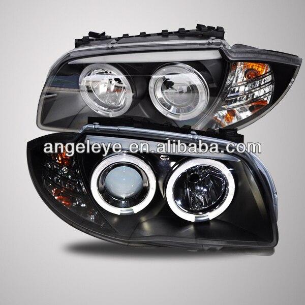 Pour BMW E87 phare 08-11 ans Angel Eyes