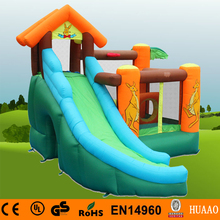 цена на Free Shipping Kangroo Mini Bouncer Slide Inflatable Indoor Playground for kids with Free CE blower