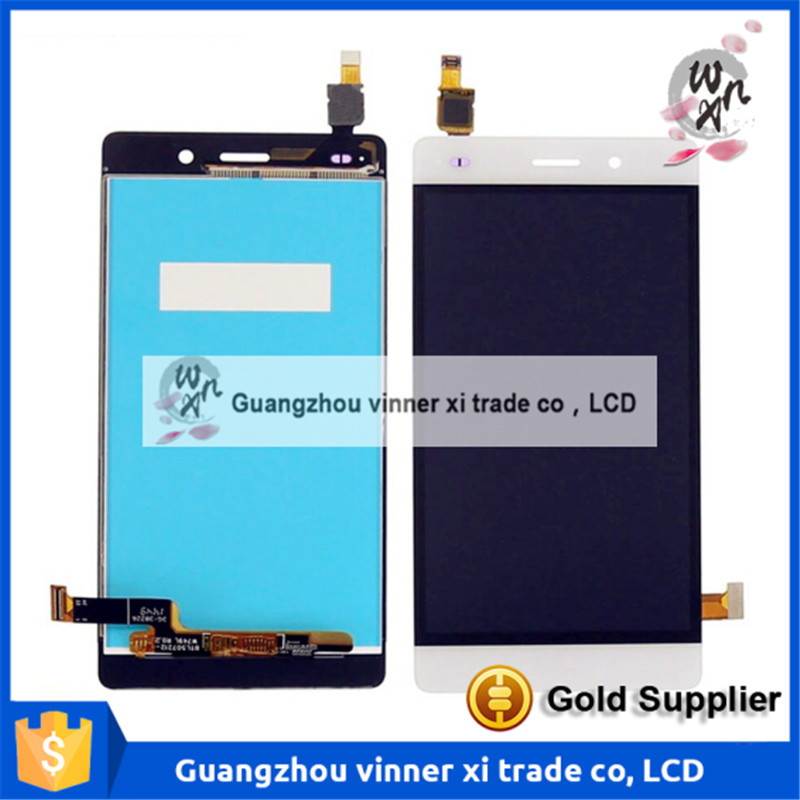 ФОТО Touch Screen Digitizer + Lcd Display Glass Replacement For Huawei Honor P8 Lite