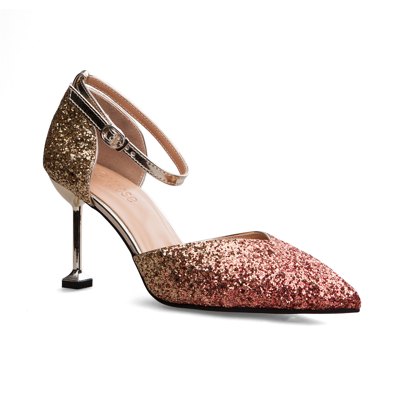 HZXINLIVE 2018 Summer Women Sandals High Heel Shoes 8 Cm Women Pumps Ladies Dress Thin Heel Sandals Sexy Female Sandalen Dames