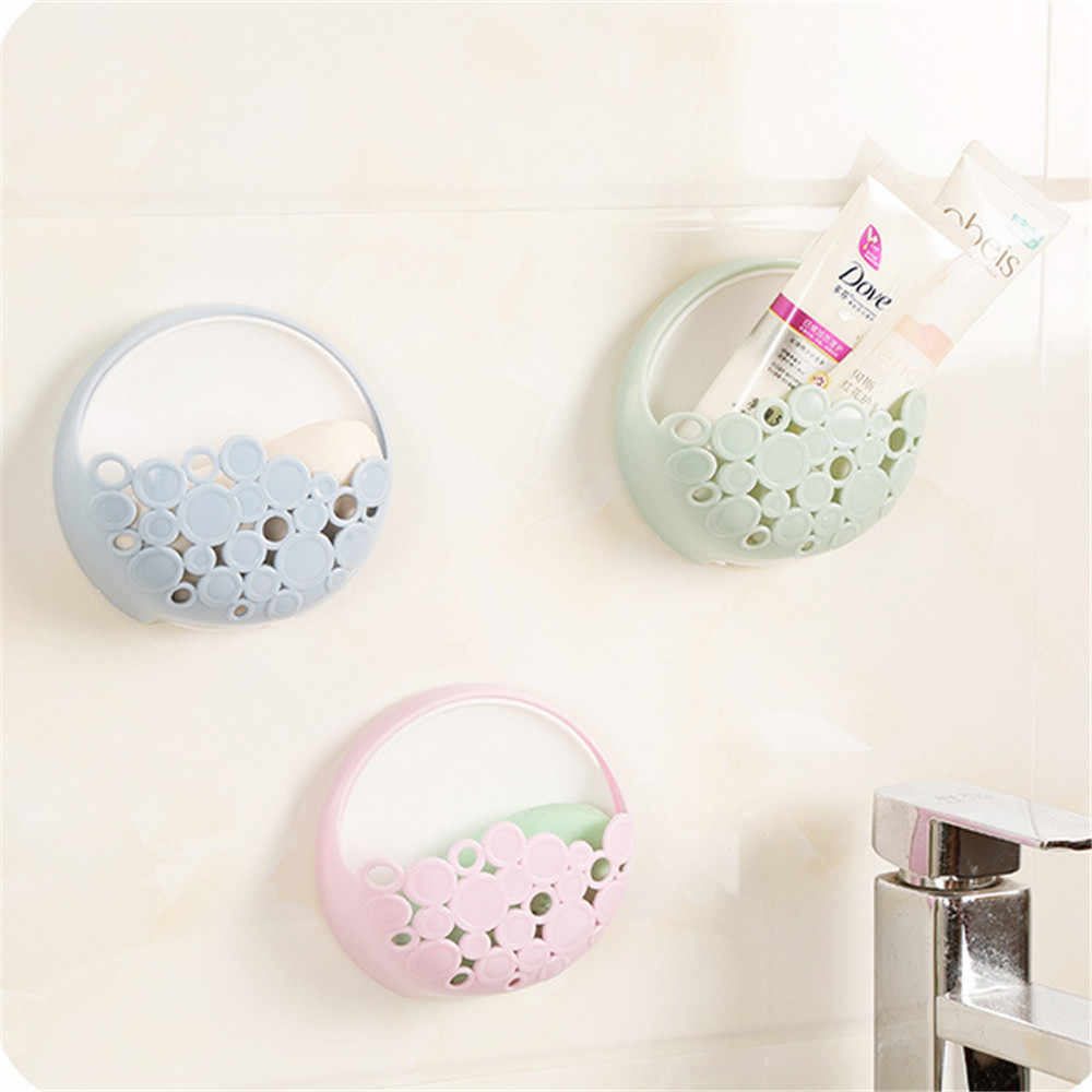 1 pc uchwyt do montażu na ścianie Sucker ssania szczoteczka do zębów organizator wieszak na ręczniki łazienka domu ręcznik mydło spustowy półka z organizatorem do kuchni kosz