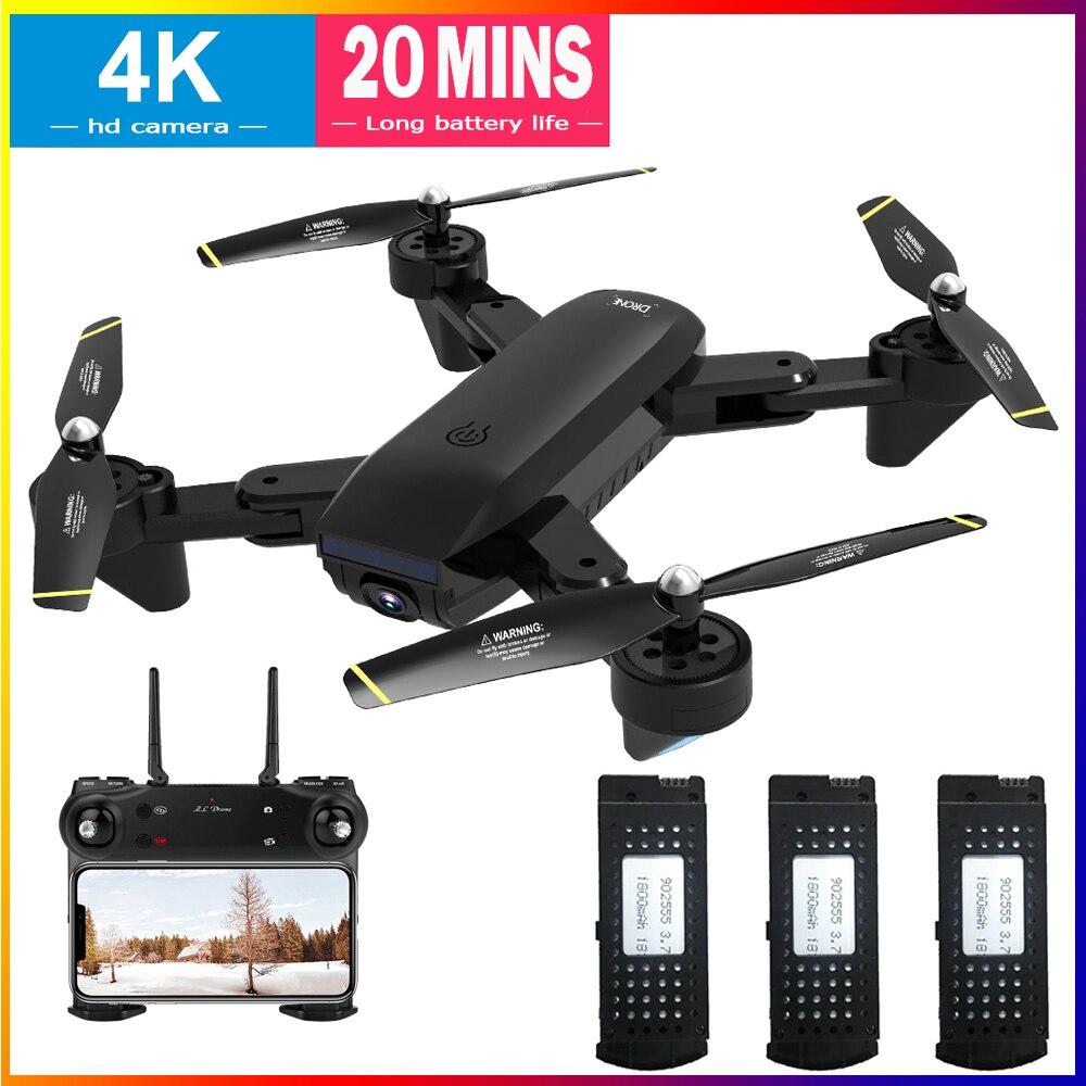 rc zangao 720 p 1080 p 4 k hd grande angular camera dobravel quadcopter profissional quadrocopter