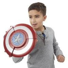 [Nouveau] Cosplay The Avengers Captain America bouclier nerf doux balle lanceur jouet déformation pistolet caché enfant Costume fête cadeau