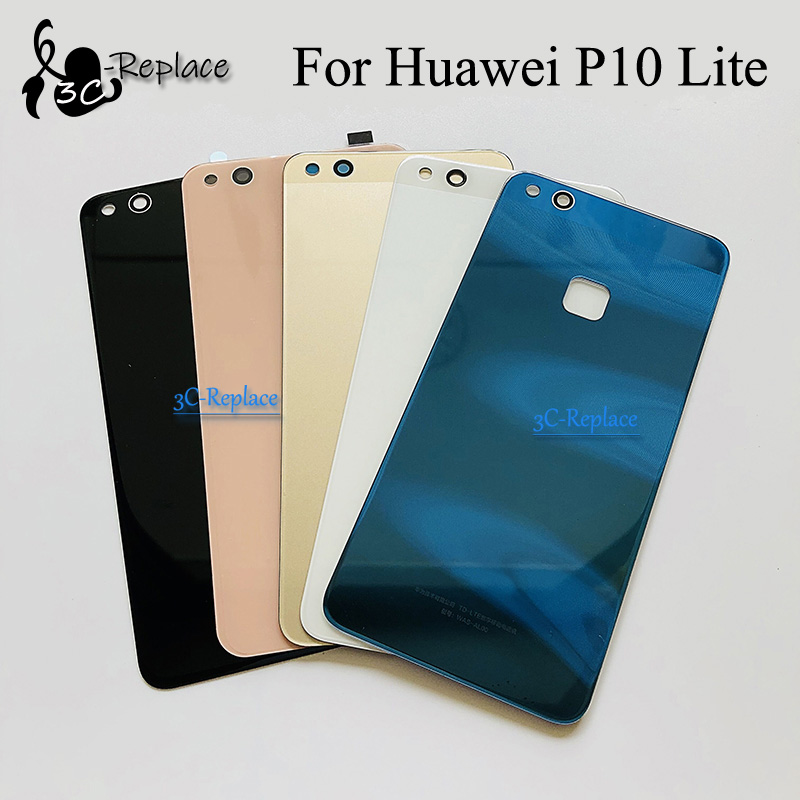 Cover Back-Battery P10-Lite Huawei WAS-LX2J Door-Housing-Case Glass-Parts for P10lite/Was-lx2j/Was-lx2/..