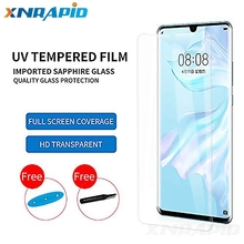 2pcs 3D Nano Liquid full Glue Tempered Glass For HuaWei P30 Pro p30Lite  Screen Protector pro Full Cover