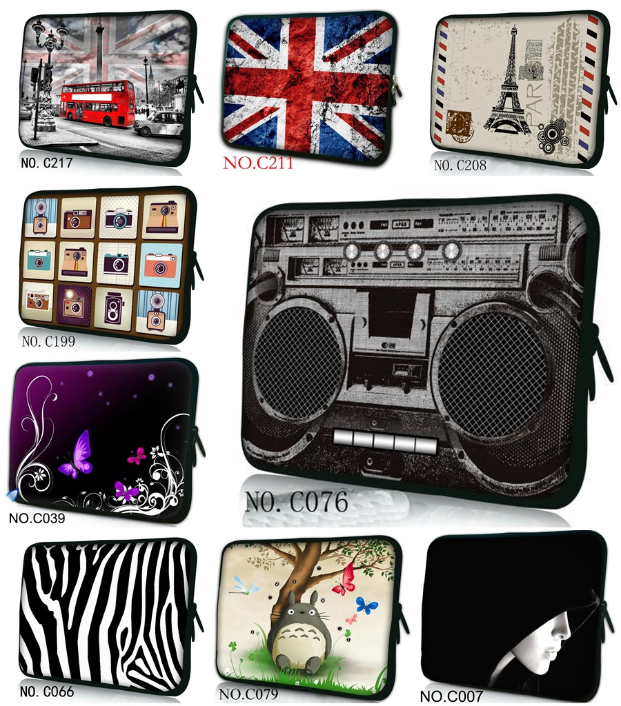 Customizable Notebook <font><b>Laptop</b></font> <font><b>sleeve</b></font> bag case Computer cover pouch For tablet PC 9.7'' 10 <font><b>11</b></font> 12 13 14 15 15.6 17 <font><b>inch</b></font> Boombox image