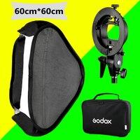 Godox Studio Fotoğraf Flaş Softbox Işık Kiti 60x60 cm/24