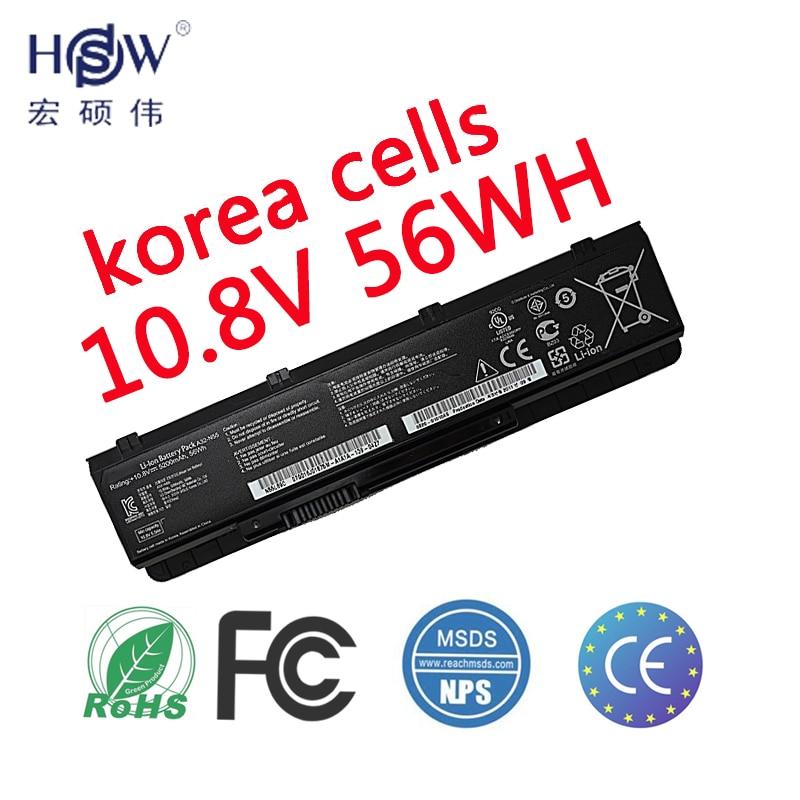 HSW NEW battery FOR ASUS N45SV N55 N55E N55S N55SF N55SL N75 N75E N75S N75SF N75SJ N75SL N75SN N75SV bateria цена
