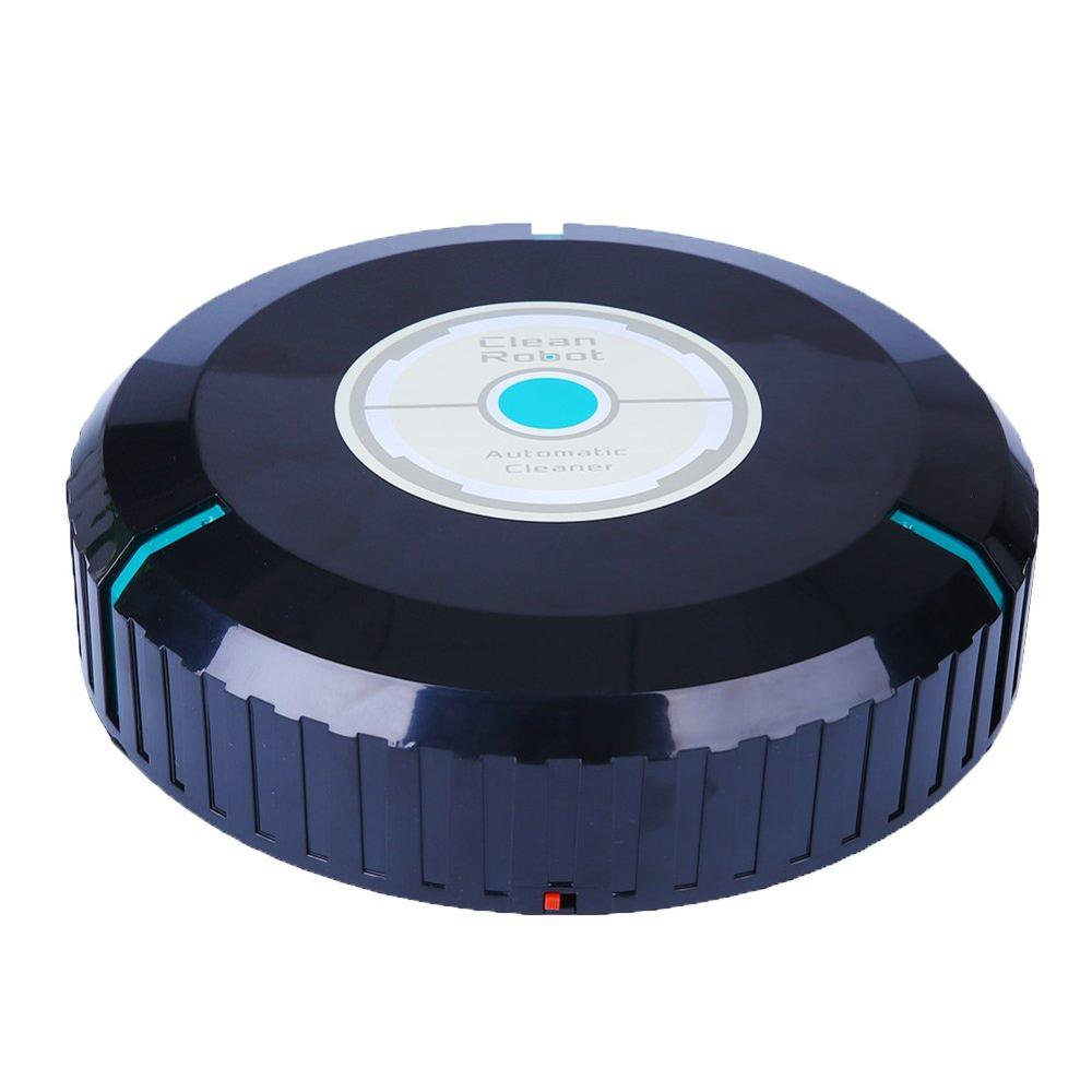 Auto Vacuum Cleaner Robot Microfiber Smart Auto Floor Dust Hair Cleaning Robot Dry Wet Sweeping Machine For Mother's Day Gifts(China)