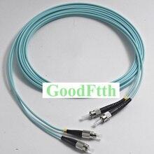 цены на Fiber Optic Patch Cord Jumper ST-FC FC-ST Multimode OM3 Duplex GoodFtth 1-15m в интернет-магазинах