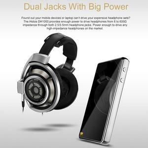 Image 5 - HIDIZS DH1000 כפול מאוזן מגבר 2.5/3.5mm שקעי אוזניות תמיכה PCM 24 Bit/192kHz ילידים DSD64/128 היי Res אודיו