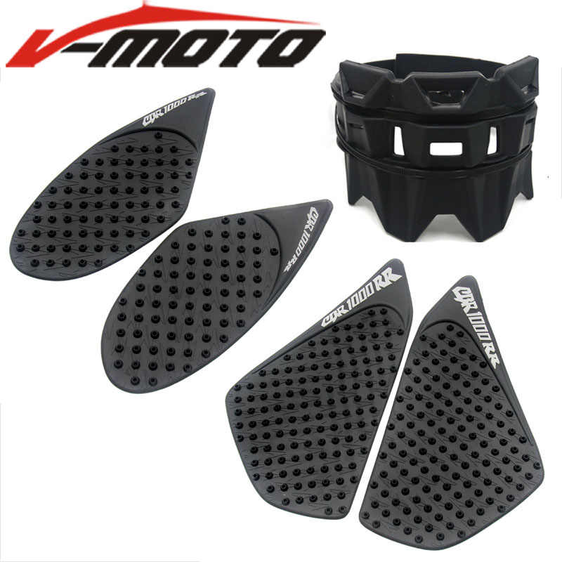 Voor Honda CBR1000RR CBR 1000RR 2004-2016 Motorfiets Tank Traction Pad Side Gas Knee Grip Protector Decal Uitlaat bescherming ring