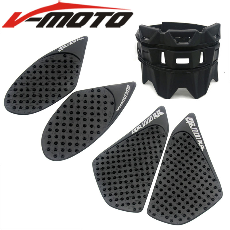 For Honda CBR1000RR CBR 1000RR 2004-2016 Motorcycle Tank Traction Pad Side Gas Knee Grip Protector Decal Exhaust Protection Ring