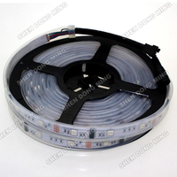 Free Shipping 5m 480LEDs 160IC WS2801 LED Strip Light Tape DC12V Dream Color Waterproof IP67 5050SMD