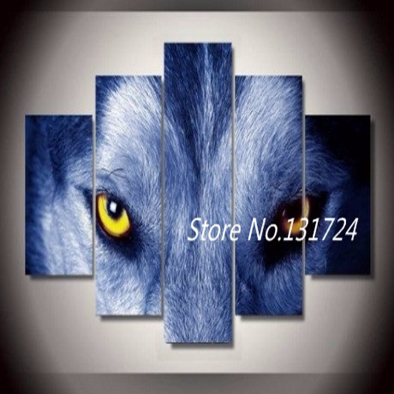 Online get cheap wolf posters alibaba group for Cheap art prints on canvas
