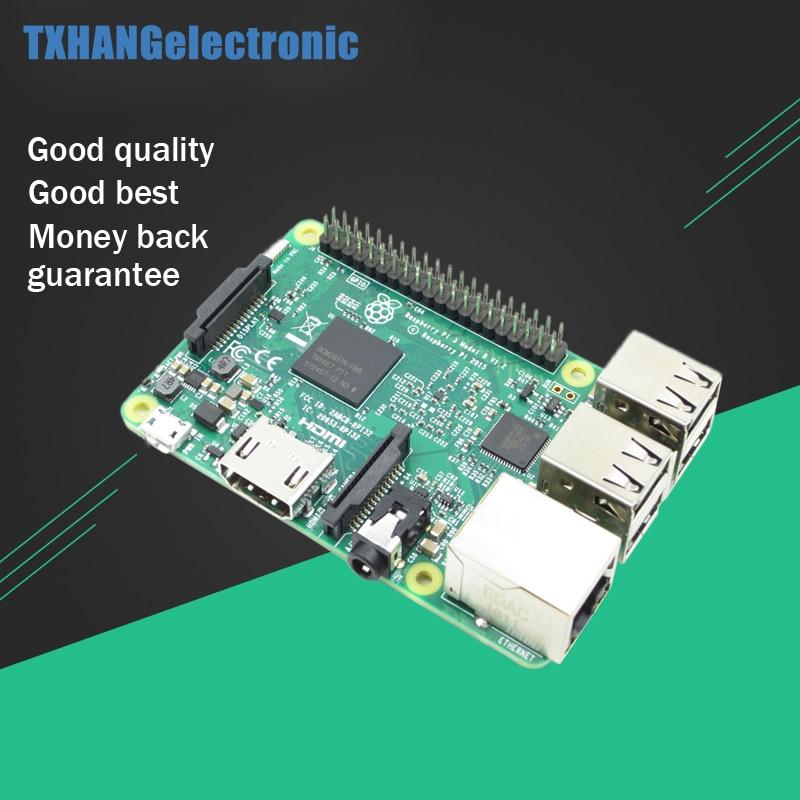 Raspberry Pi 3 модели B 1 ГБ Оперативная память 4 ядра 1,2 ГГц 64 бит Процессор Wi-Fi Bluetooth третьего поколения Raspberry Pi рашпиль PI3