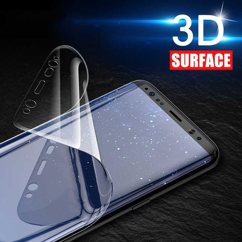 3D HD منحني لينة واقي للشاشة لسامسونج غالاكسي S7 S8 s9 plus S6 حافة طبقة رقيقة واقية لسامسونج ملاحظة 8 (لا الزجاج)