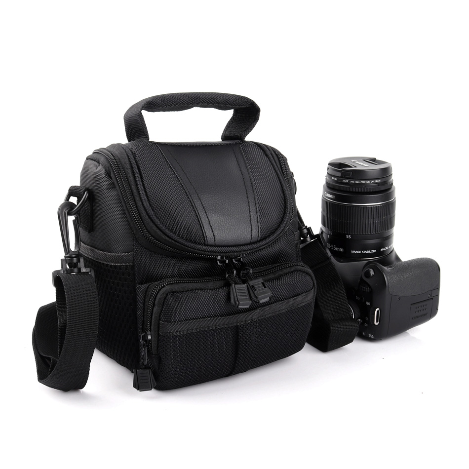 Camera Bag Case for Sony A6300 A6000 A5100 A5000 A7 Mark II A7II HX400 HX300 HX200 H400 H300 H100 A7R A37 A35 A58 A57 A55 NEX-7