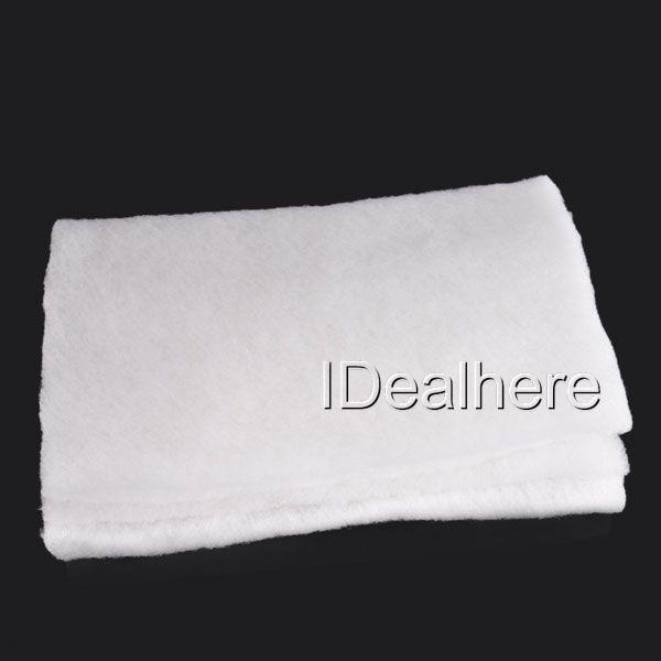 High quality filter foam sponge white cotton pad mat media for Pond pump filter sponge