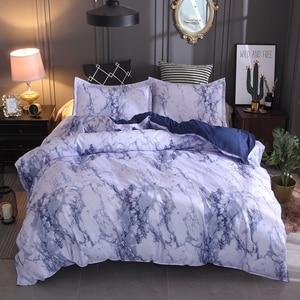 Image 3 - LOVINSUNSHINE Juego de ropa de cama de mármol, funda de edredón de doble reina, edredón, juegos de cama King AB01 #