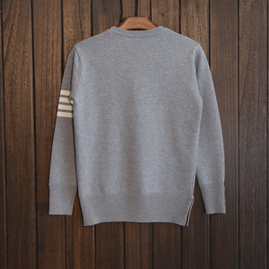 Image 2 - Free shipping New Fashion 2019 Autumn Winter Man Wool Pullovers Men warm Fashion Casual Sweaters Pullovers