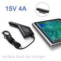65 Вт 15 В 4А для Microsoft Surface Pro 4 Pro 4 поверхность Книга Автомобильный Адаптер Автомобильное зарядное устройство Питания Зарядное Устройство с USB