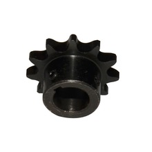 #40 08A Chain Sprocket 12 Teeth Bore 5/8 3/4 Pitch 1/2 with Keyway Inndustry Transmission GO Kart Roller Sprockets