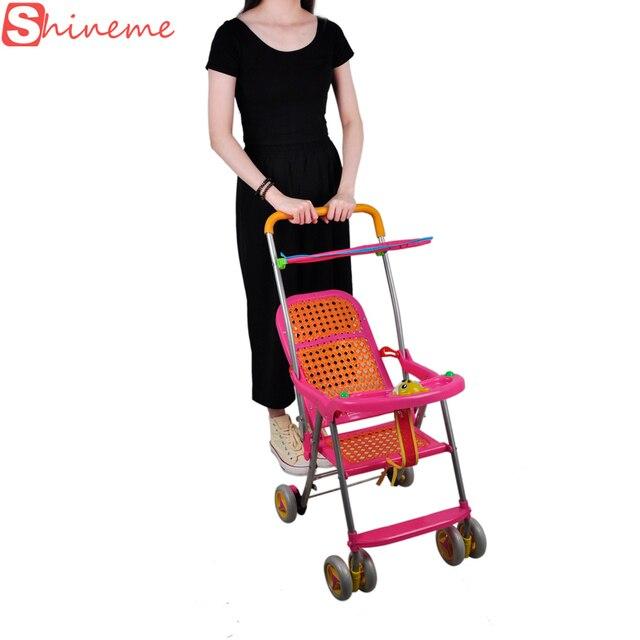 Новорожденный портативный традиционный китай дешевый складной лето детские коляски 3 в 1 детские коляски коляска коляска детская коляска завод автомобиль