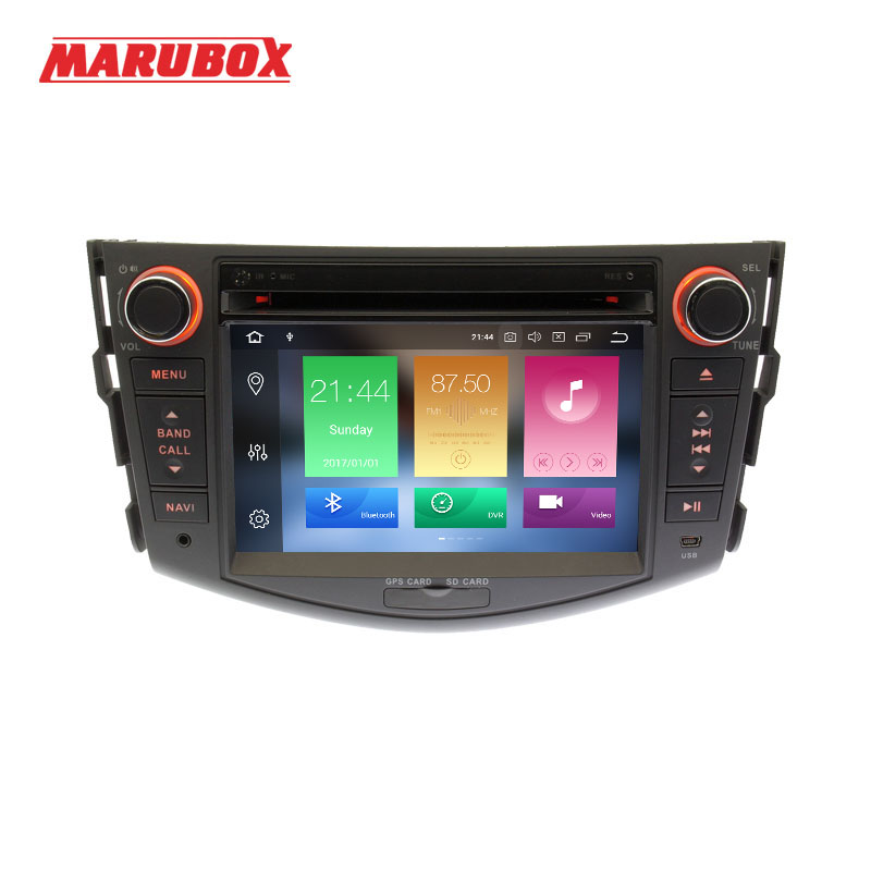 MARUBOX 2Din Octa Core 4G RAM Android 8 0 For Toyota RAV4 2005 2013 Car Multimedia