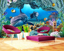 beibehang Custom silky fashion decorative painting stereo classic childrens wallpaper 3D TV background wall papers home decor