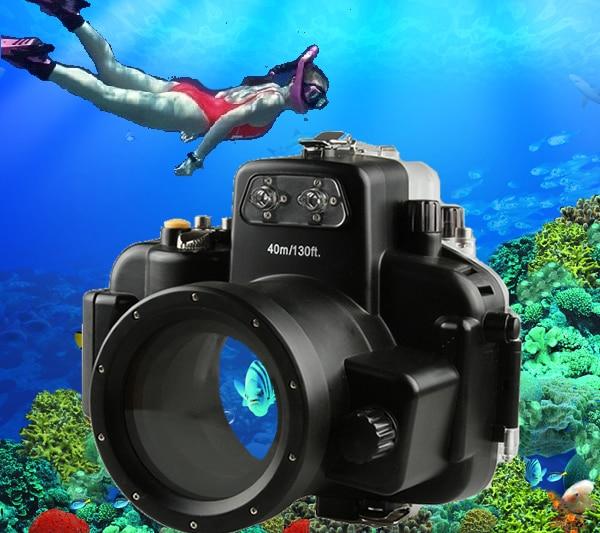 40M 130ft D7000 Camera Waterproof Cover Underwater Housing Hard Case for Nikon D7000 DSLR Camera