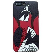 NBA Jordan Pattern Phone Case iPhone 6 6plus 6s Plus 7 Plus 8 X