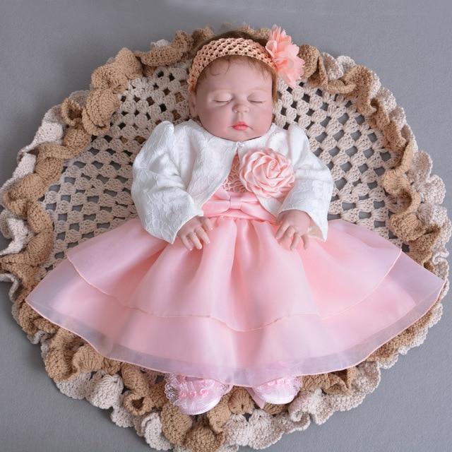 8ddfc37713 Outono Menina Bebê de 1 Ano de Aniversário Vestido 0 2 Y Bebê Menina ...
