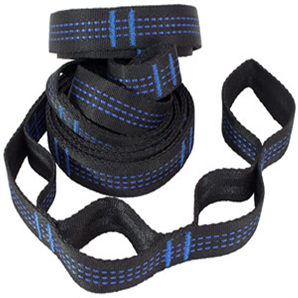 2pcs Hammock Strap - 10 Feet Long, Extra Strong & Lightweight, 19 Holes To Meet Your Adjustment Needs